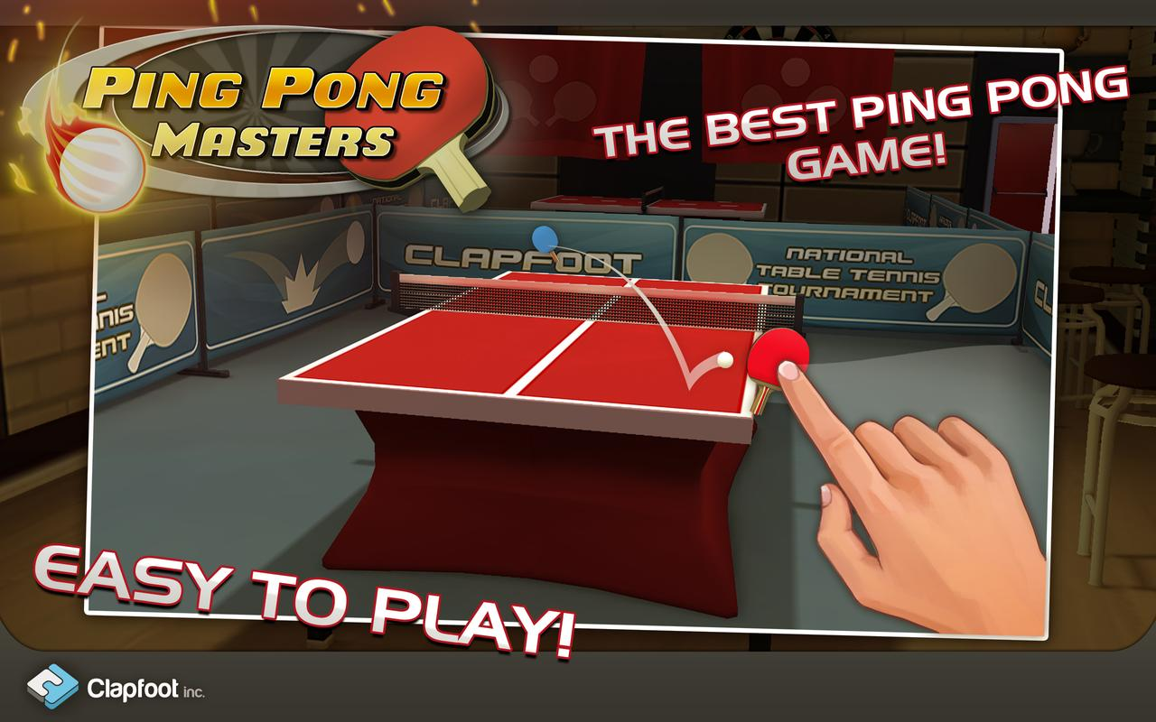 Ping Pong Masters Apk Download Free Sports Game For
