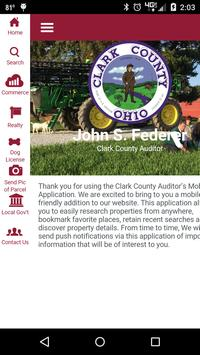 Clark County Auditor poster
