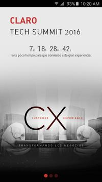 Claro Tech Summit 2016 poster