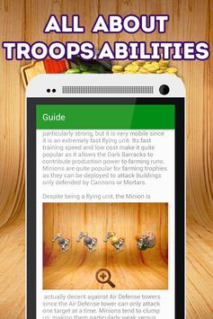 Best Cheats for Clash of Clans apk screenshot