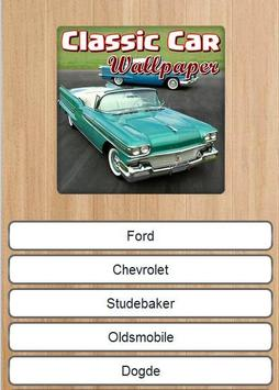 Classic Car Wallpaper apk screenshot