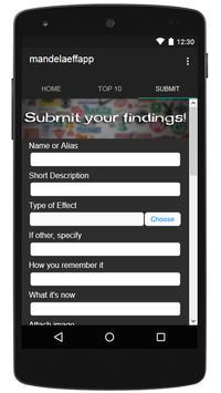 The Mandela Effect App apk screenshot