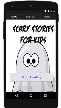 The Scary Stories for Kids App poster