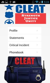 OUTDATED - CLEAT Tactical Bag apk screenshot