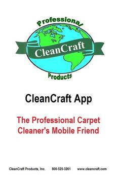 CleanCraft App poster