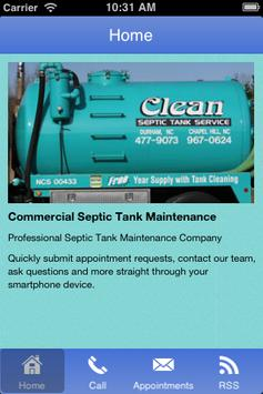 Clean Septic Tank Service poster