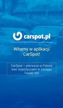 Wypożyczalnia samochodów poster