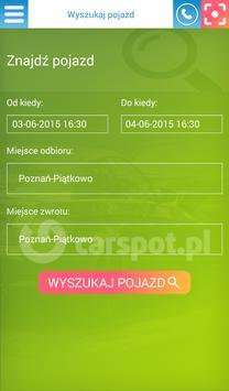 Wypożyczalnia samochodów apk screenshot