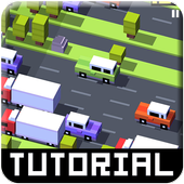 Tutorial for Crossy Road icon