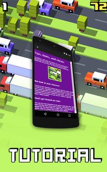 Tutorial for Crossy Road poster