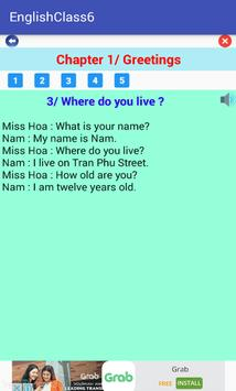 English Class 6 apk screenshot