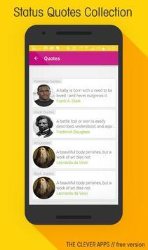 100 000+ inspirational quotes apk screenshot