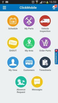 ClickMobile Communication poster