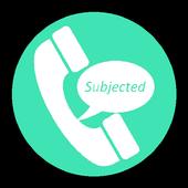 Subjected icon