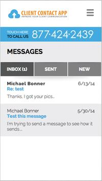 Client Contact App apk screenshot