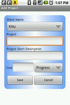 Client Management apk screenshot