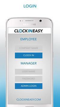 ClockInEasy apk screenshot