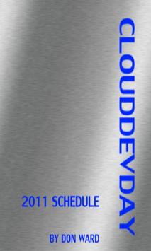 CloudDevDay Schedule apk screenshot