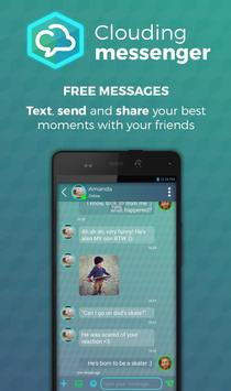 Clouding Messenger apk screenshot