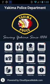 Yakima Police Department poster