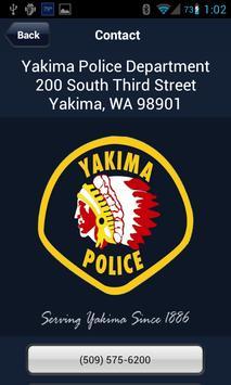 Yakima Police Department apk screenshot