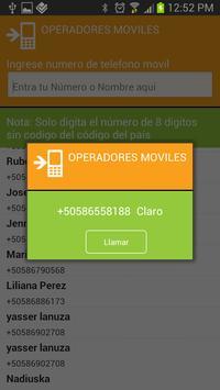 Operador Móvil apk screenshot