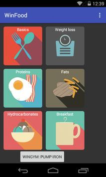 Proper nutrition: the basics poster