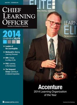 Chief Learning Officer mag poster