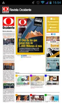 Revista Occidente apk screenshot