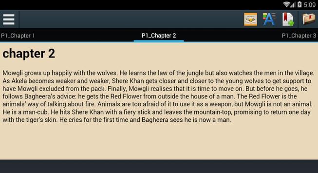 jungle Book Story apk screenshot