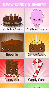 How to Draw Candy and Sweets apk screenshot