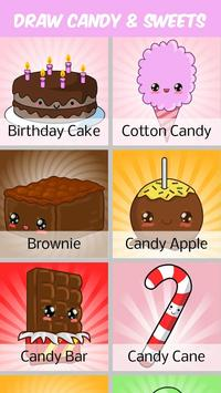 How to Draw Candy and Sweets poster