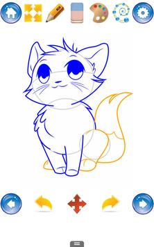 How to Draw Cats and Kittens apk screenshot