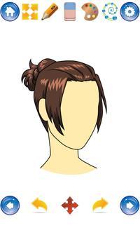 How to Draw Hair Styles apk screenshot