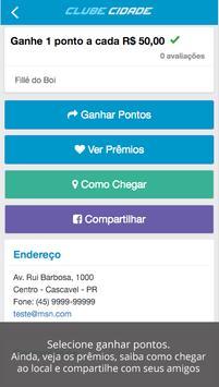 Clube Cidade apk screenshot
