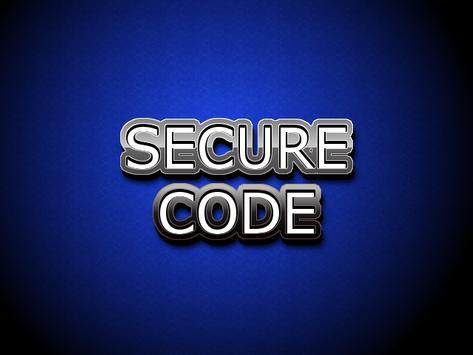 Secure Code Memo apk screenshot
