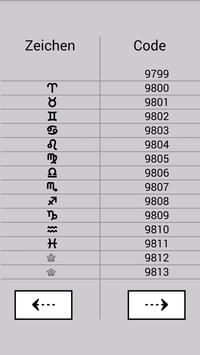 Unicode Finder apk screenshot