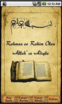 Sesli Kuran-ı Kerim Meali poster