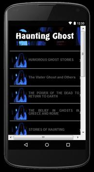 Haunting Ghost Stories poster