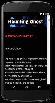 Haunting Ghost Stories apk screenshot