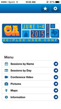 CA Plex 2E 2015 Conference apk screenshot