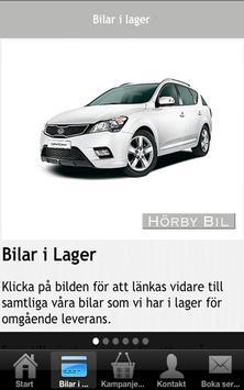 Hörby Bil poster