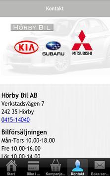 Hörby Bil apk screenshot
