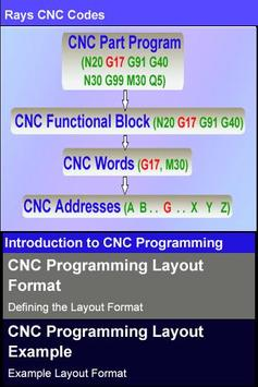 Rays CNC Codes apk screenshot