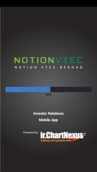 Notion VTec Investor Relations poster