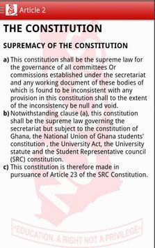 NUGS-KNUST Constitution poster