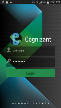 Cognizant Events poster