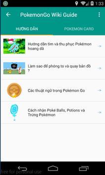 Guide For Pokemon Go Vietnam apk screenshot
