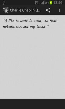 Charlie Chaplin Quotes poster