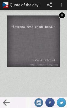 České Přísloví Pro apk screenshot
